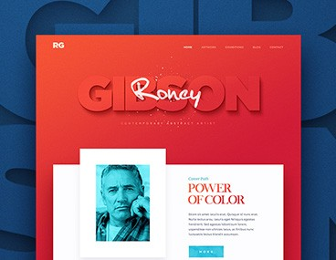 Roney Design Web Portfolio HTML