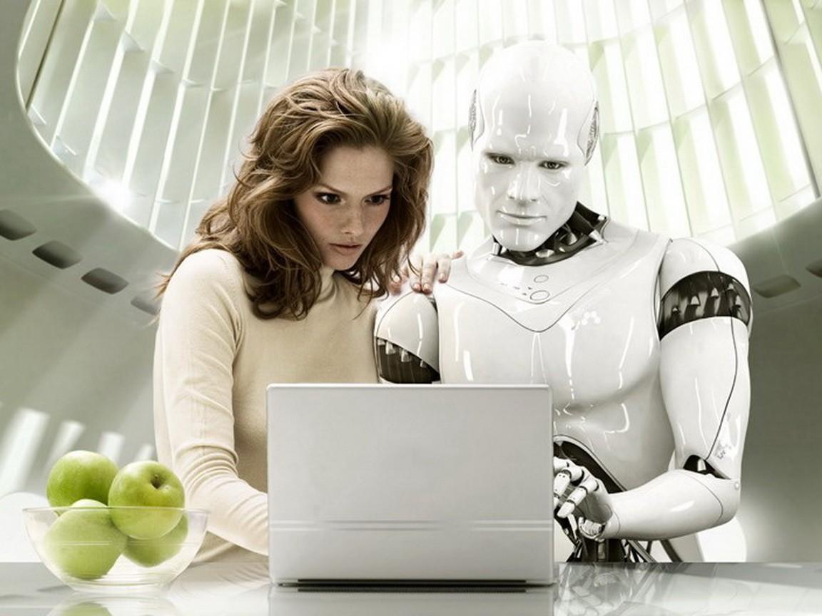 Robot és ember együtt