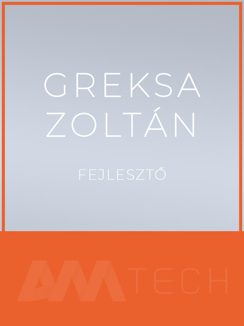 Greksa Zoltán