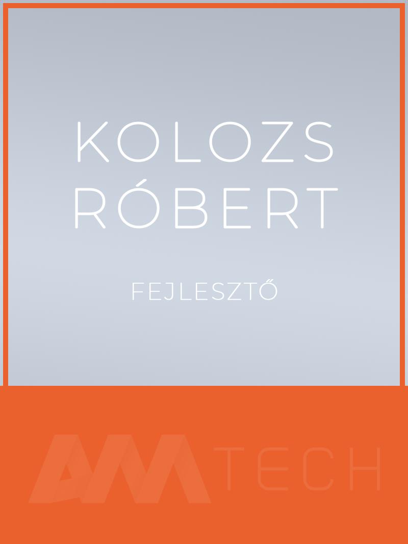 Kolozs Róbert